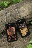 Hunger Games Limited Katniss & Peeta Dog Tags Official Licensed Collectible NECA