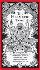 Hermetic Tarot NEW Sealed 78 card deck Secret Order Golden Dawn Astrology Dowson