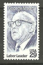 2848 George Meany US Single Mint/nh (Free shipping offer)