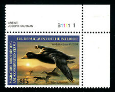 #RW69, $15 Black Scoter, XF/Superb-OG-NH, centered & sound, a first-rate example