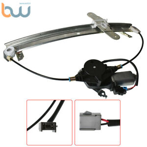 Power Window Regulator Front Left Side W/Motor For 1992-2011 Ford Crown Victoria