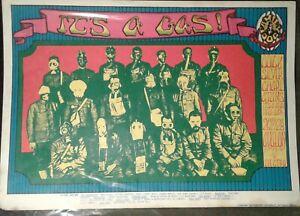 1968 Quicksilver Messenger Poster AUTHENTIC VINTAGE Alton Kelley Grateful Dead
