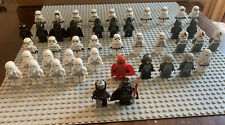 Lego Star Wars Empire Minifigure Lot, Stormtroopers Darth Vader, Scout Troopers.