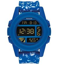 Nixon A1972303 Unit Cobalt Speckle Unisex Digital Watch