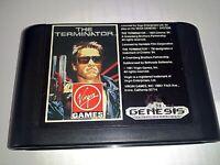The Terminator Sega Genesis Game Cartridge *NTSC-U* 70026