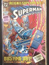 """Superman Man of  Steel  #22B     """"Newsstand""""     (1993)     Batman     VF/NM"""