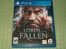 Lords of the Fallen (Sony PlayStation 4) PS4 w/ Case, Action RPG Game, Lord