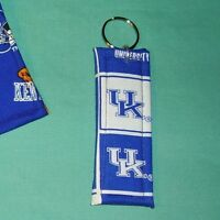 COASTERS SET of 4 and/or KEYCHAIN key ring University of KENTUCKY Wildcats UK