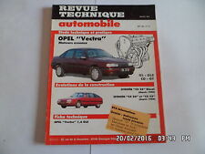RTA OPEL VECTRA MOTEURS ESSENCE GL-GLS-CD-GT N°515 MAI 1990    J73