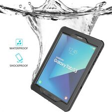 for Samsung Galaxy Tab S3 Waterproof Case Shockproof Dust Proof Protective Cover