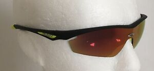 Rudy Project SPACEGUARD Black Sunglasses With Laser Orange Mirror Lens Ref:40G