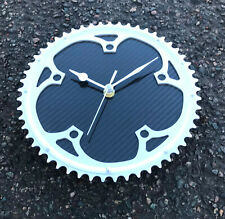 Campagnolo bike gear carbon fibre clock cycling cyclist guys Fathers day gift