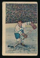 1952-53 Parkhurst Hockey #44 TEEDER KENNEDY (Toronto Maple Leafs) *HOF*