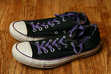 8874bc012b8 Converse All Star Double Tongue Shoes Womens US 10 Purple Laces Paisley  545419F