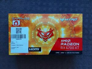 AMD Radeon RX 6700XT Sapphire Nitro+