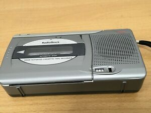 Radio Shack Desktop Cassette Voice Recorder Player Dictaphone
