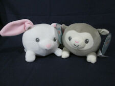 2 Cuddle Pals Squishy Plush BUNNY & LAMB Age 0+ NEW WITH TAGS!