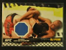2010 Topps UFC BJ Penn Event Used Octagon Mat relic