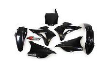 New KX 85 14 15 16 17 18 Plastic Kit Motocross Plastics Black KX85