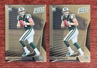 Lot of (2) 2018 Panini The National VIP SAM DARNOLD Rookie #9 Chrome RC JETS🔥