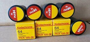 8 rolls 1996 KODACHROME PKR64 CHROME FILM 35MM WAS REFRIDGERATED 30 YEARS