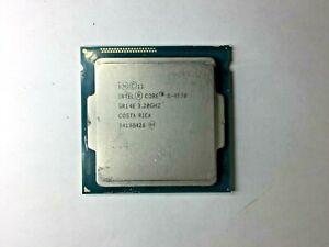 Intel Core i5-4570 3.2GHz Quad Core CPU SR14E Socket LGA1150  GRADE A