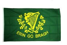 Erin Go Bragh Flag 5 X 3 FT - Irish Ireland National 1916 Easter Rising Eire
