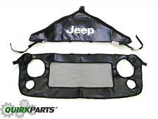2007-2019 Jeep Wrangler JK BODY Front End Hood Bra Cover OEM MOPAR 82210318AB