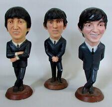 "1984 Beatles Esco Lot of 3 Molded 18""  Statues, Lennon, McCartney, and Harrison"