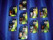 STAR WARS Action Figure POWER OF FORCE Green Collection