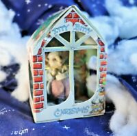 1986 U.D.C. Itty Bitty Christmas Mouse Ornament - Drummer