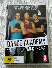 Dance Academy - Growing Pains (DVD, 2010) R-4, LIKE NEW, FREE POST IN AUSTRALIA
