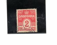 Dinamarca valor nº 49a, dentado 14x14 1/2 año 1917 (BP-844)