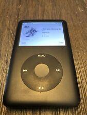 Apple iPod Classic 6th Generation Black A1238 (80GB) Tested --READ DESCRIPTION