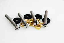 Garrard 301 Mounting Bolts 80mm Set with Nuts and Isolation Washers