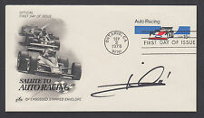 Mario Andretti, World Champion Race Car Driver, signed 15c Auto Racing FDC, JSA