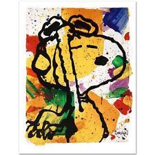 "Tom Everhart ""Salute"" 50th Anniversary PEANUTS Limited Edition, COA"