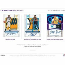 MEMPHIS GRIZZLIES 2017-18 PANINI CROWN ROYAL BASKETBALL 8 BOX HALF CASE BREAK #4