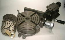 """6"""" tavola rotante con contropunta piastre di divisione & Clamp Kit Per Fresatrice"""