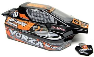 VORZA HP BODY Shell (ORANGE & BLACK cover VB-1 Buggy painted HPI racing 101850