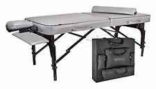 "Master Massage 30"" Montour Lx Massage Table Package with 3"" Memory Foam,Dove ."