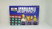 The Simpsons Edition Jeopardy 2003 Board Game By Pressman Complete EUC