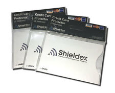 6 x  RFID Blocking Shieldex Credit Card Protector Sleeve Anti Theft Scan Safe