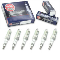6 pcs NGK Iridium IX Spark Plugs for 1998-2004 Ford Mustang 3.9L 3.8L V6 - oc