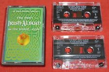 THE BEST IRISH ALBUM IN THE WORLD...EVER! CASSETTE TAPE X 2 - VARIOUS ARTISTS