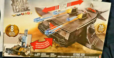 DC JUSTICE LEAGUE FLYING FOX MOBILE COMMAND CENTRE PLAYSET VEHICLE