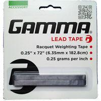 Gamma Lead Tape Tennis Badminton Squash Racquet Weighting Tape