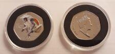 Moneda 50p Gibraltar primates 2018 ( red colombus monkey )