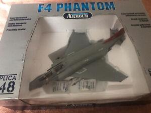 Franklin Mint Armour 1/48 F4 Phantom Die-cast Model Aircraft