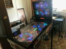 Zizzle  Marvel Super Heroes Pinball Machine VERY RARE no coin op Lights Up 100%